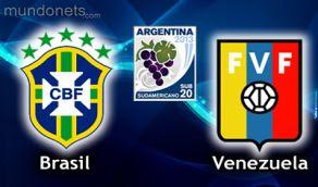 Brasil Venezuela online vivo Sub20 Horarios 16 Enero