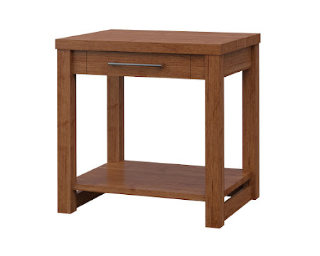 Sumatra End Table in Itasca Maple