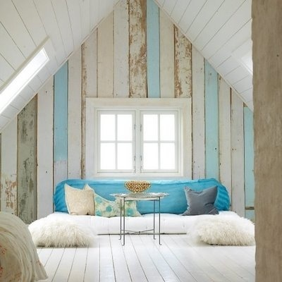 Seaside Style: Wood Plank Walls