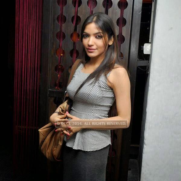 Rupsha Guha at the event at Plush in Kolkata.