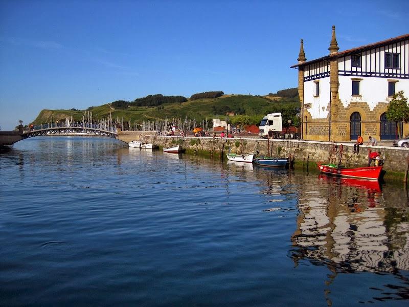 Hafen von Zumaia