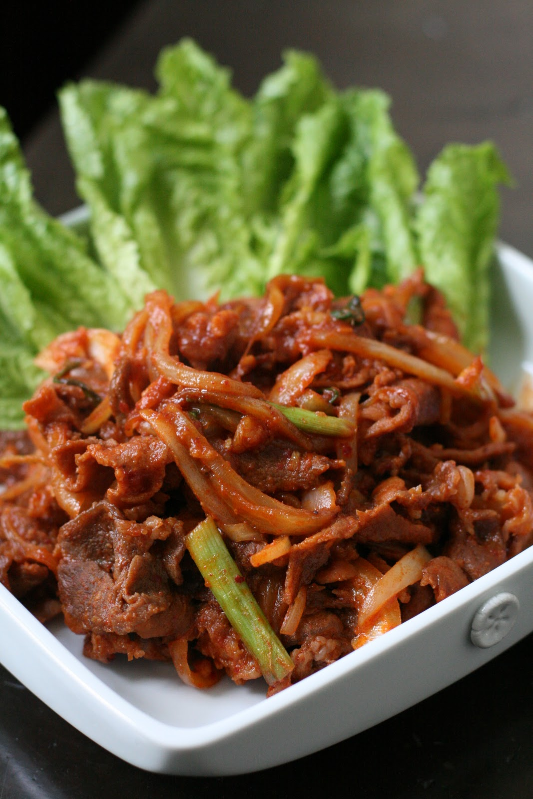 Week of Menus: Korean Spicy Pork (Dweji Bulgogi 돼지불고기 or ...