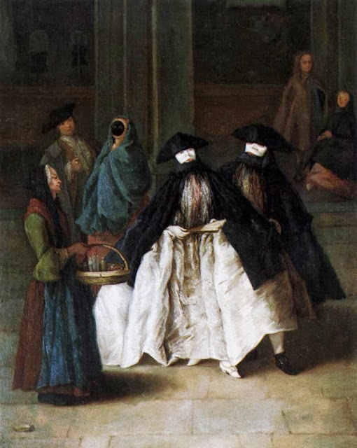 Pietro Longhi - The Scent-Seller