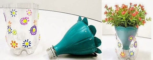 Recycling Of Plastic Bottles How To Make Your Own Vase By Using A
