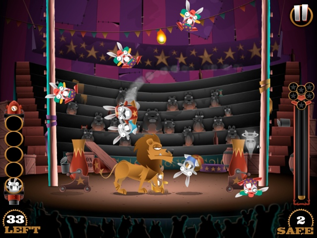 Stunt Bunnies Circus Review (iOS)
