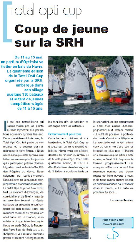 Total opti Cup 2012 Le Havre Optimist