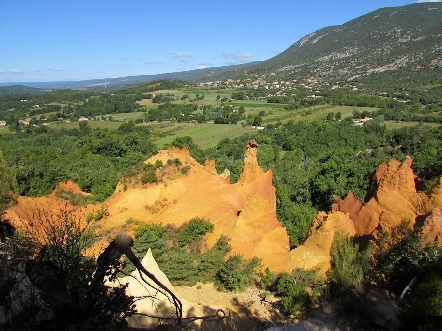 Rustrel e il Colorado Provenzale