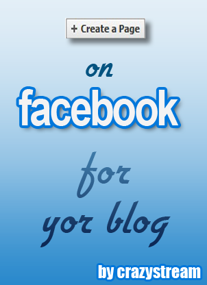create a facebook fan page for blog