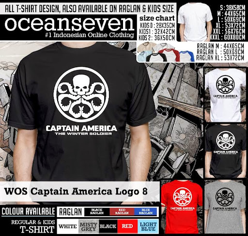 Kaos Anak Ocean Seven