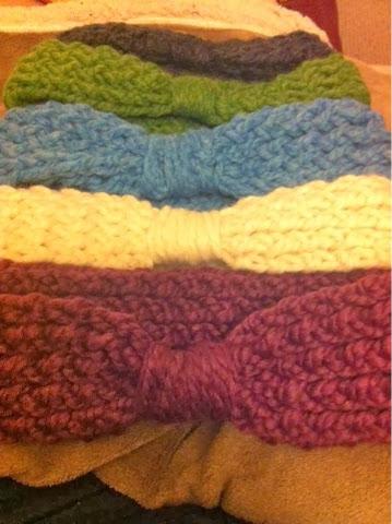 Loom Knitting Pattern Headband : Jenns Yarn Addiction: Loom Knit Headband - free pattern