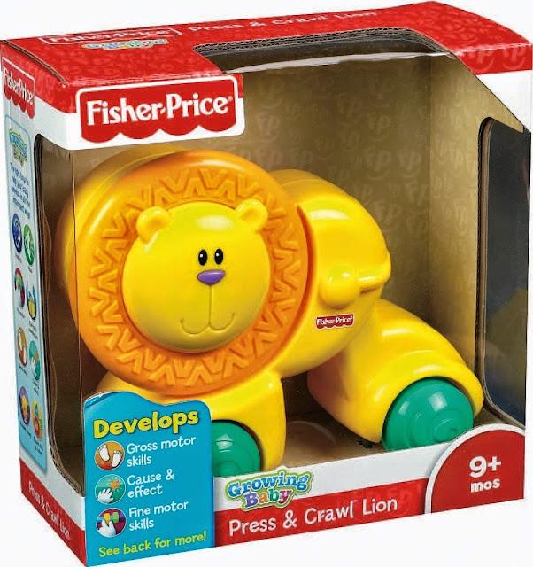Đồ chơi Sư tử dễ thương Fisher Price tuyệt đối an toàn