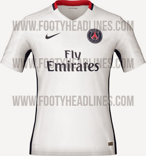 235023aeb Nike New PSG 2015-16 Home Away Third Kits (Released)