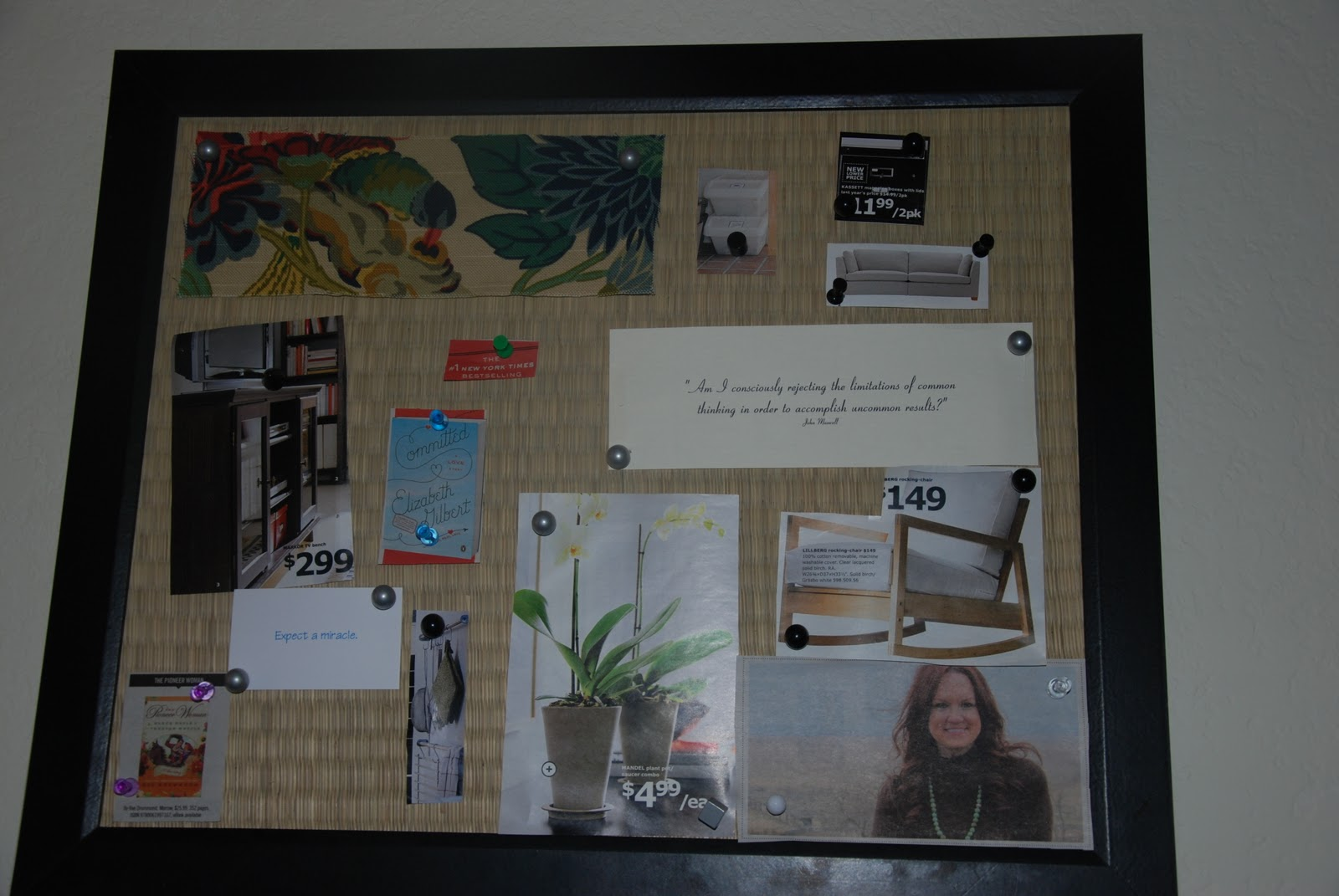 Vision boards mama baby love for Home design vision board