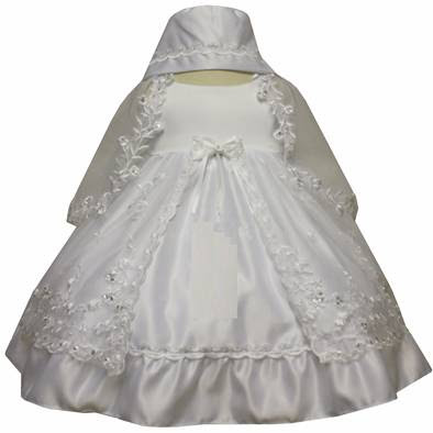 Angel Girl Toddler Christening Baptism Dress Gowns outfit/XS/S/M/L/XL/0-3M/3-6M/6-12M/12-18M/18-24M/XSMALL/SMALL/MEDIUM/LARGE/XL/5442B at Sears.com
