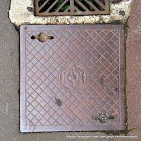 札幌市下水道汚水桝蓋(昭和2年制定)