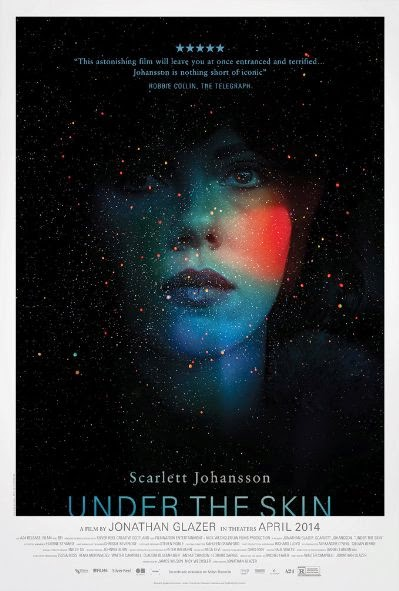 Poster Of English Movie Under the Skin (2013) Free Download Full New Hollywood Movie Watch Online At Alldownloads4u.Com