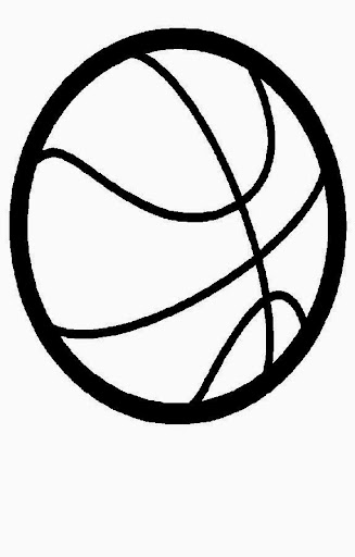 basketball with flames coloring pages - photo#10