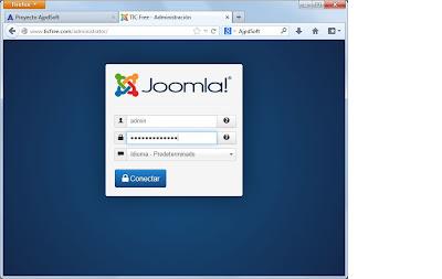 Proteger acceso administración de Joomla! con Kareebu Secure
