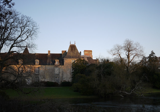 Le Château du Pordor en fin de journée