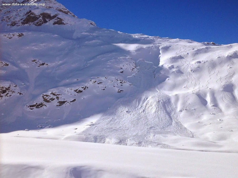 Avalanche Haute Maurienne, secteur Bonneval sur Arc, Le Vallonnet - La Léchette - Photo 1