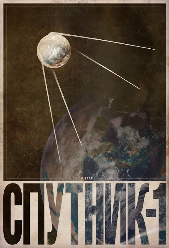 Sputnik 1 by Justin Van Genderen