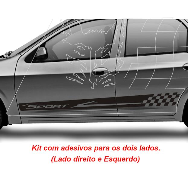 adesivos-sport-tuning-carros-chevrolet-gm-celta-kit-faixas-laterais-2-4-portas-LT-LS-prisma-preco-tambem-para-vw-gol-bola-g2-g3-g4-g5-g6-fiesta-rocam-corsa-fox-classic-fiat-novo-uno-vivace-strada-sandero-Detalhes e composição dos Adesivos Sport para Chevrolet GM Celta 2 4 portas e Prisma Kit faixas laterais para carros Tuning nas cores Vermelho, Preto, Branco, Cinza Claro, cinza Escuro, Azul adesivos para todos os carros rebaixados, envelopados,tunados, Turbinado