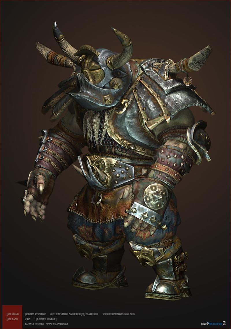 Ngắm artwork tạo hình nhân vật của Panzar - Ảnh 9