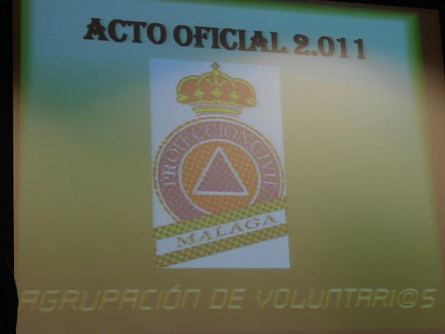 Acto Oficial P.C. Málaga 2011