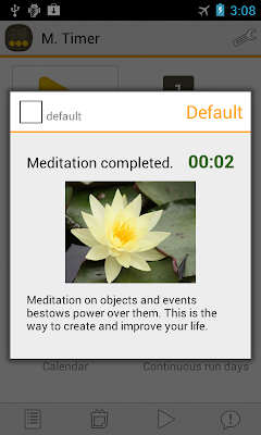 Zen time - Meditation completed
