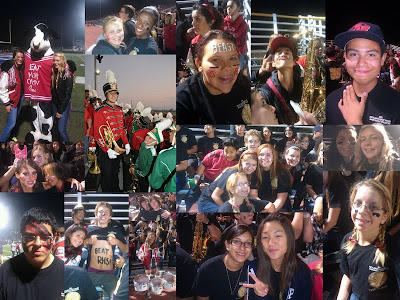 2011 2012 MARCHING BAND FOOTBALL GAMES