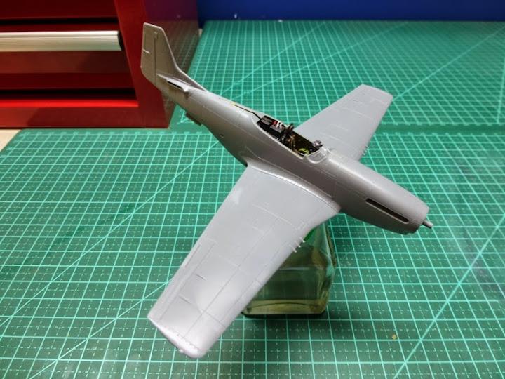 """P-51D """"The Enchantress"""" - Tamiya 1:72 - Finalizado 04Set2015 P1090596"""
