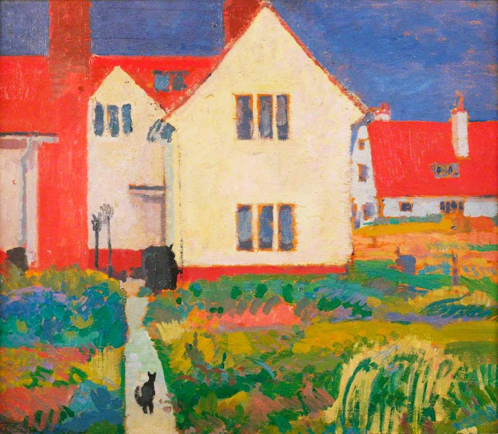 Spencer Gore - Harold Gilman's House at Letchworth.