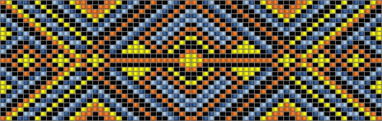 схема браслет станочное ткачество loom free bead pattern