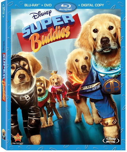 Entertainment News: Disney's Super Buddies Available 8/27 #SuperBuddies