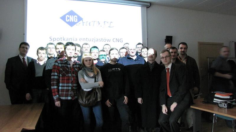 Spotkanie entuzjastów CNG