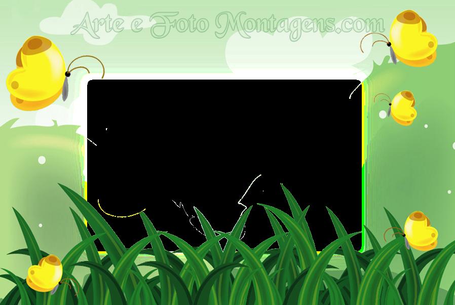 flores jardim primavera:Molduras PNG – Diversas – borboletas-jardim-primavera