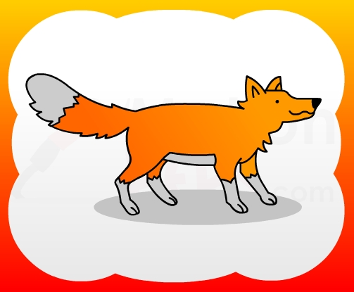 How2draw4kids How To Draw Fox For Kids