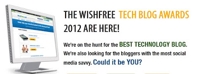 """wishfree tech blog award"""