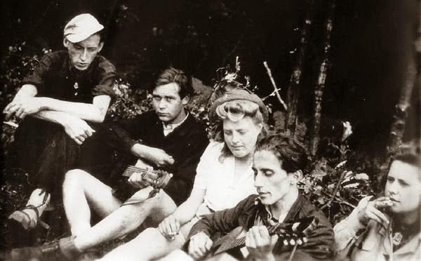 Membros dos Edelweiss Piraten