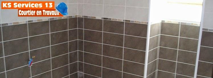 Ks services 13 carrelage chape mosa que salle de bain for Faiences murales