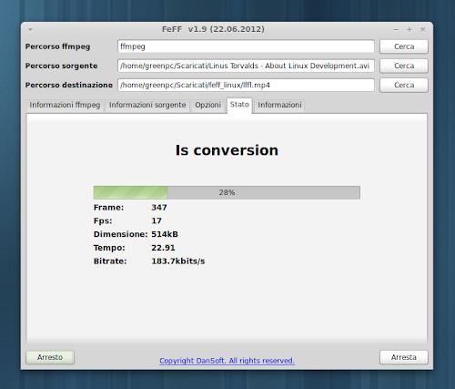 Feff 1.9 conversione