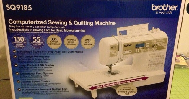sq9185 sewing and quilting machine