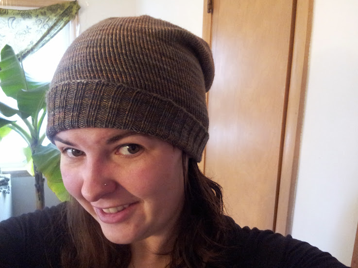 winter knits: hat 1