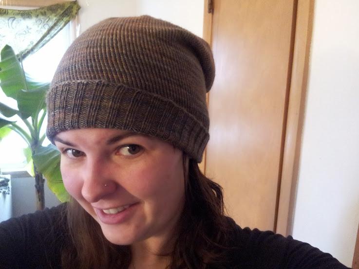 winter knits: hat 1