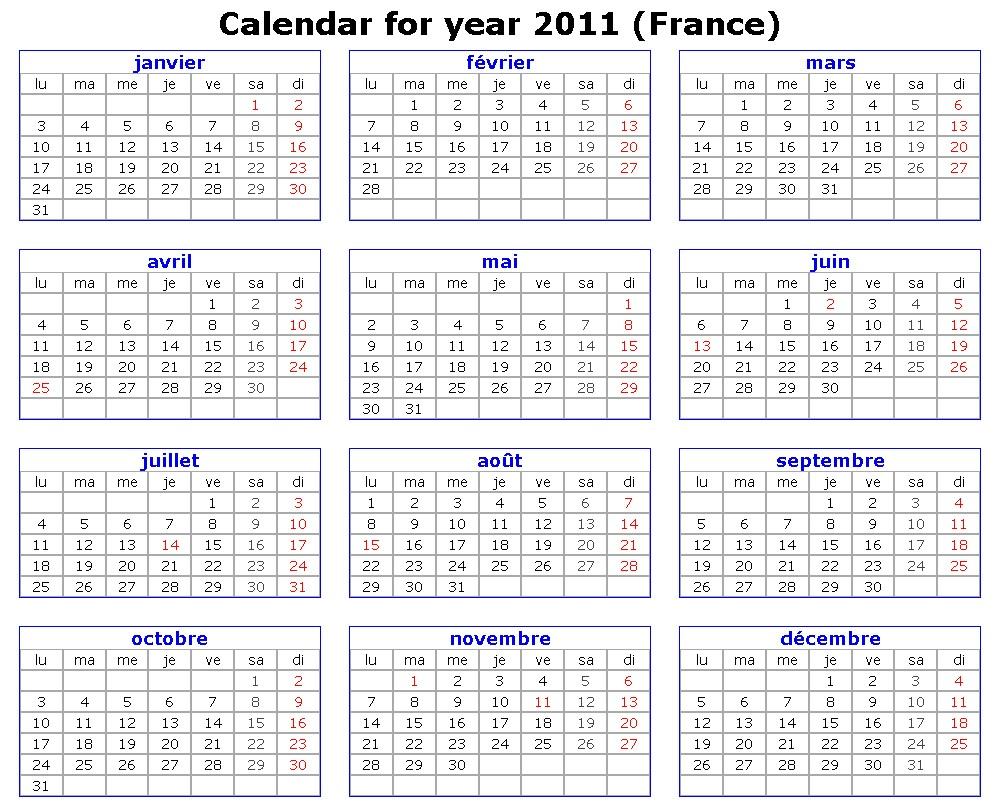 Calendar In : Have you laughed today calendar în limba franceza