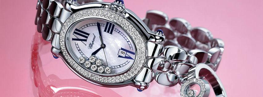 Chopard bayan kol saati kapak fotoğrafları