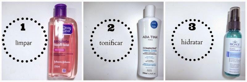 Qual a ordem de aplicação dos produtos na pele?