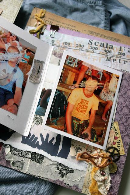 Скрап-альбом про путешествие
