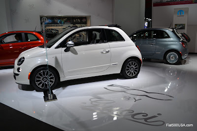 Fiat 500 by Gucci II at Detroit Auto Show