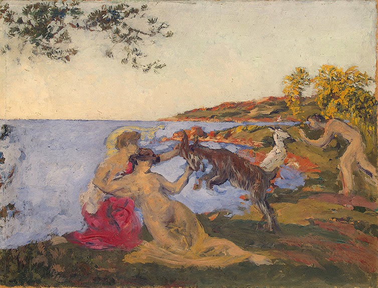 Ker Xavier Roussel - Mythological Motif 1903